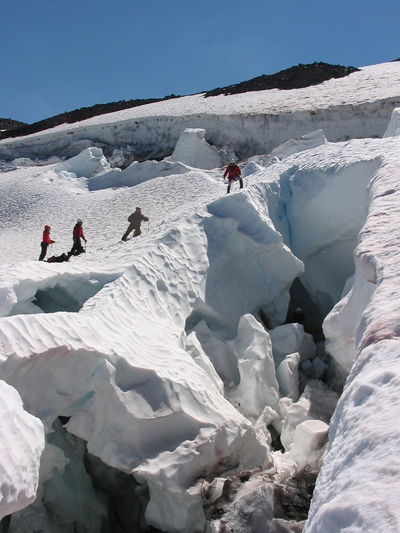 Glacier Training on the Hotlum