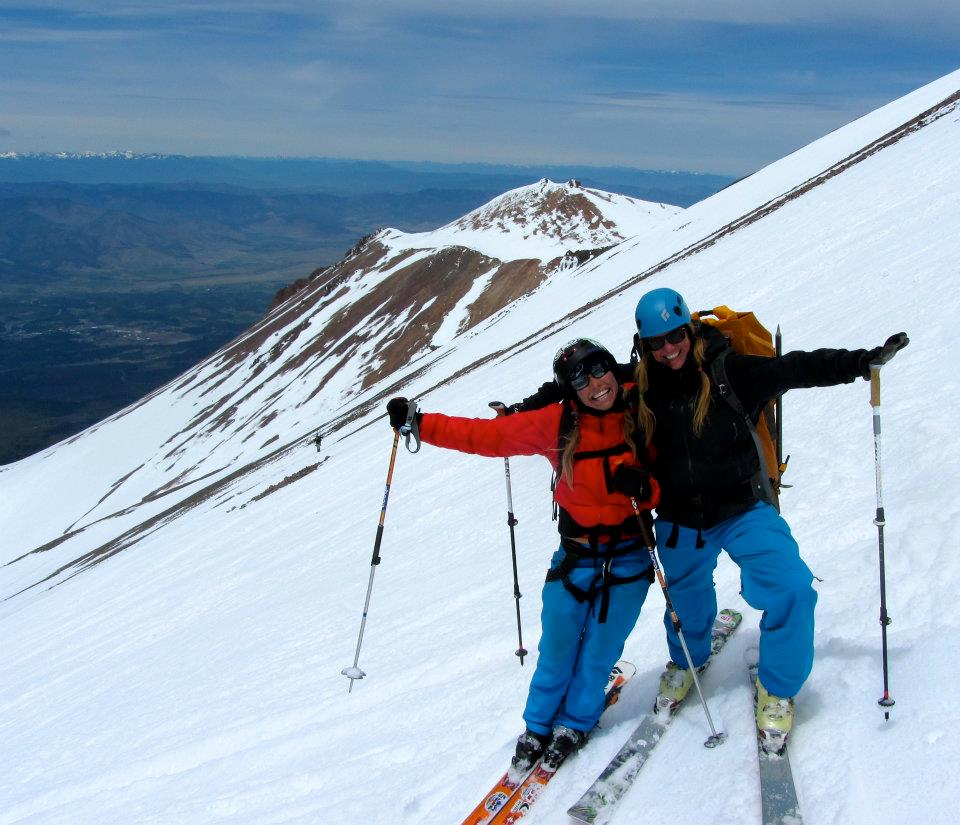 Ski West Face Mt. Shasta