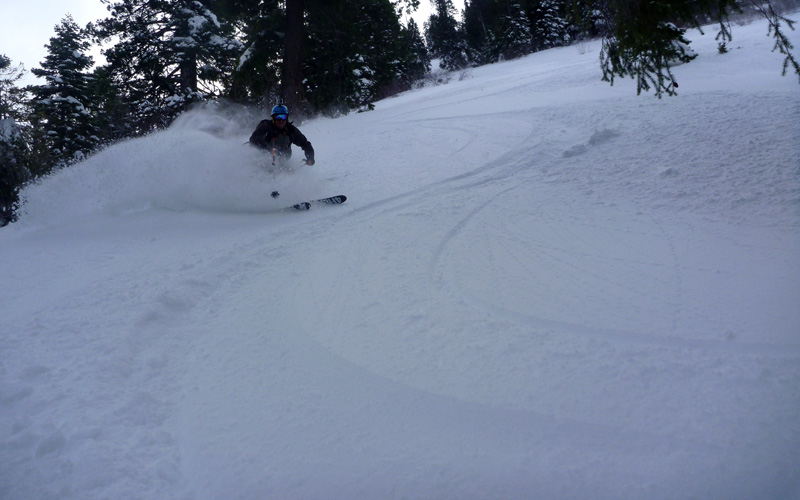 Black Butte Powder!