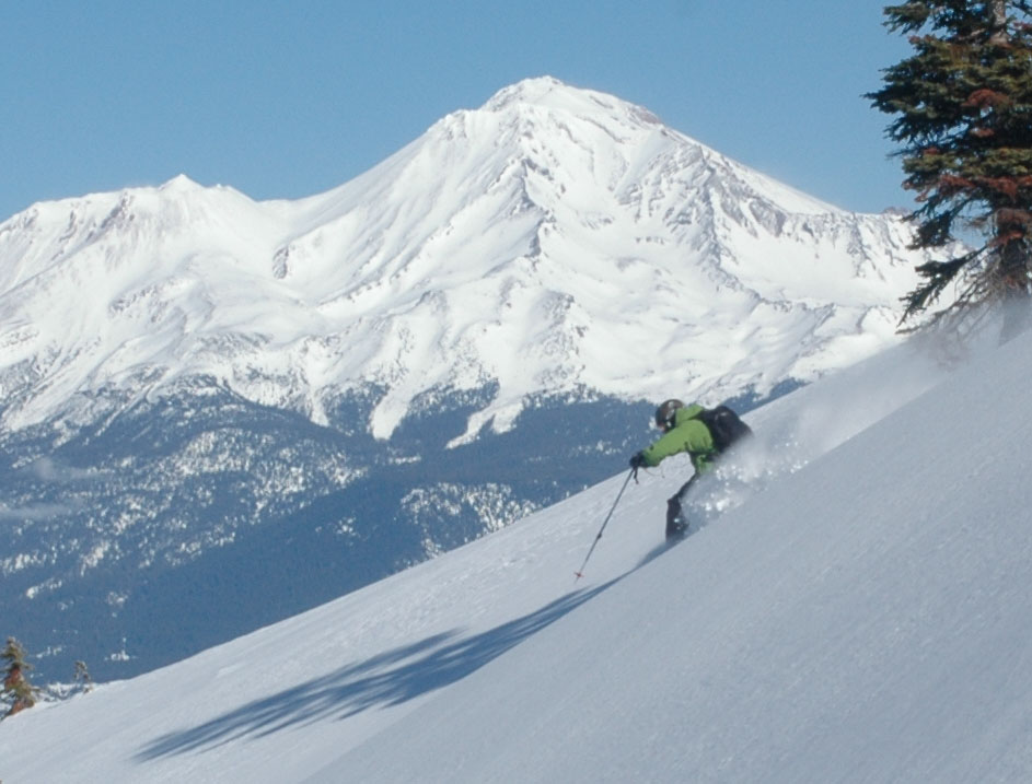 Mt. Shasta Backcountry Skiing
