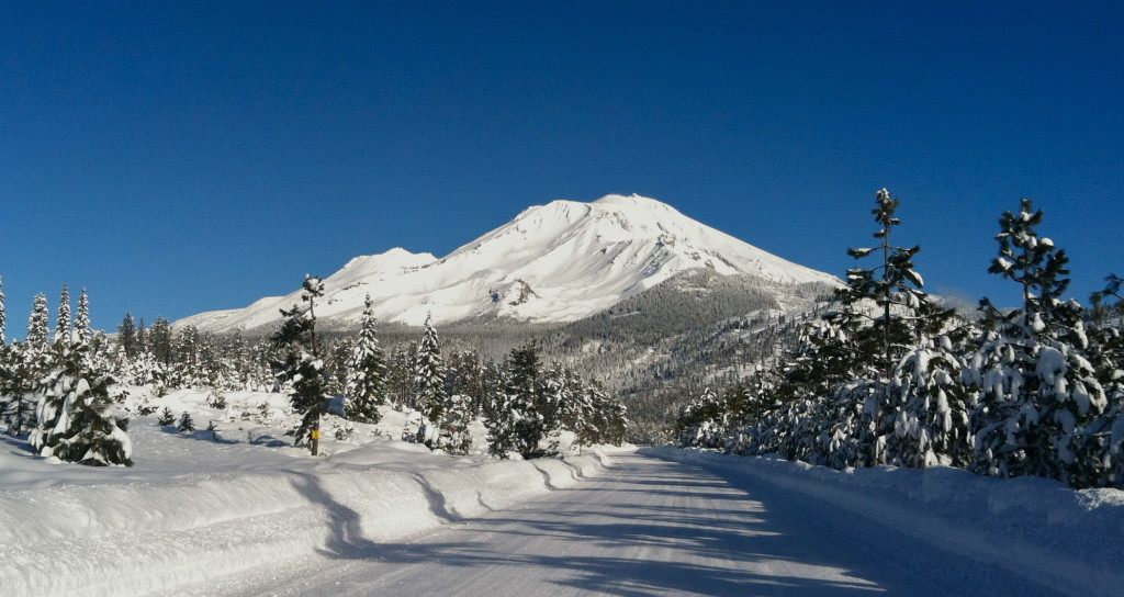 Mt. Shasta in Winter
