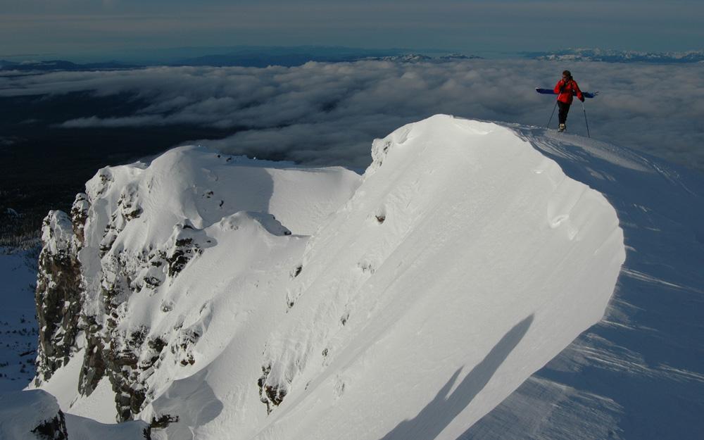 Climbing Casaval Ridge