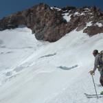 Hotlum Glacier ski descent
