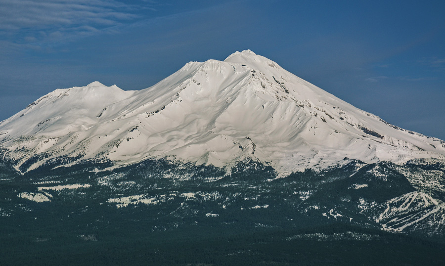 Mt. Shasta Winter