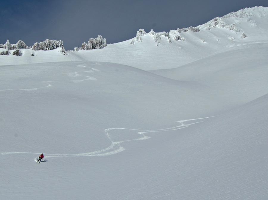 Mt. Shasta backcountry skiing February 2015