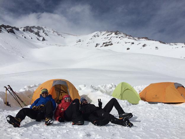 Basecamp Mt. Shasta