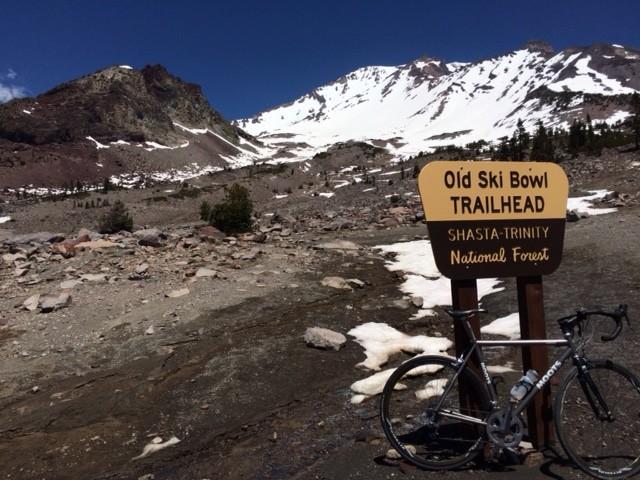 Old Ski Bowl Mt. Shasta