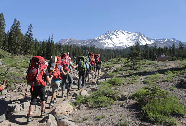 Starting the Mt. Shasta Climb