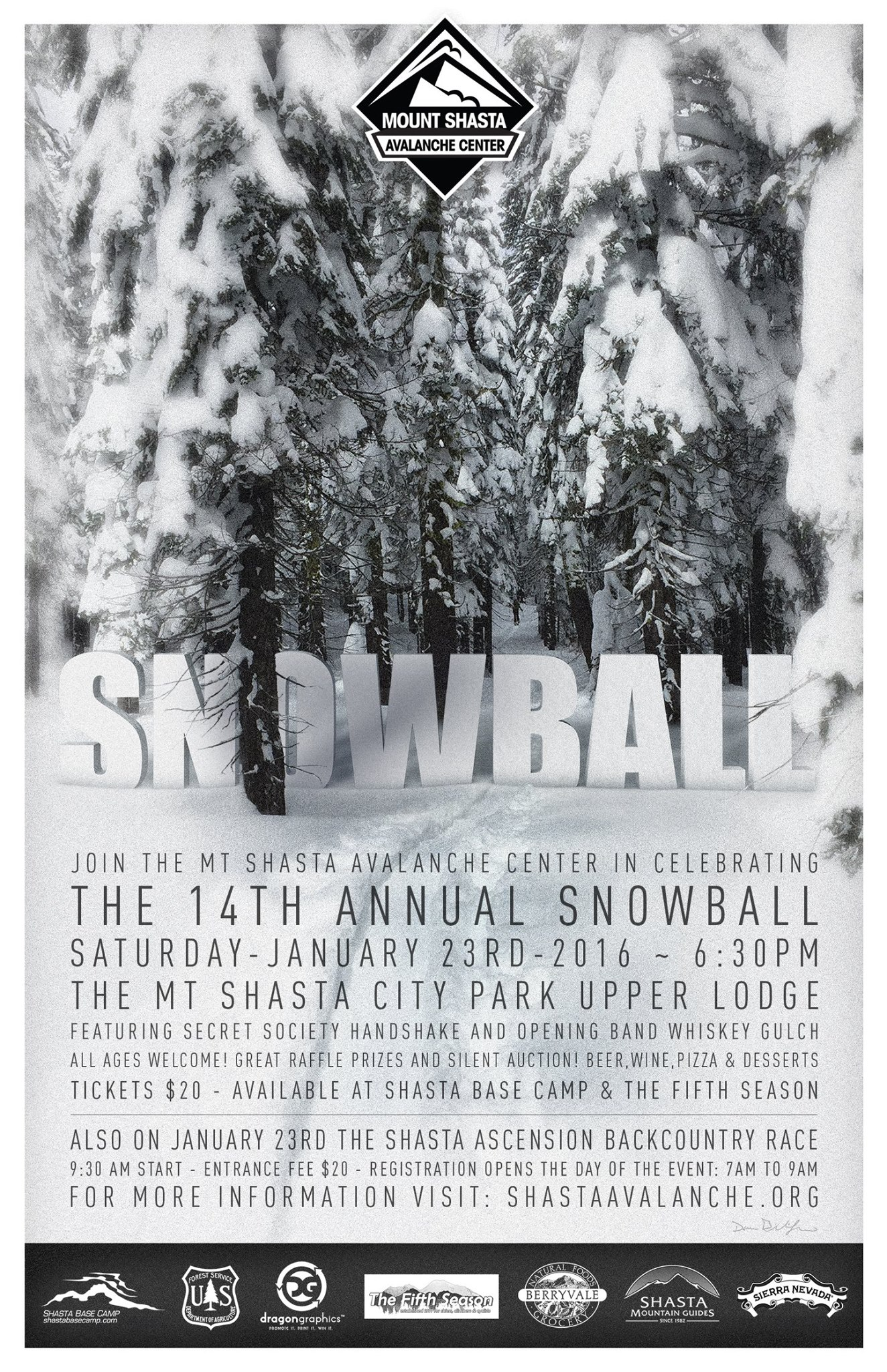 Mt. Shasta Snowball