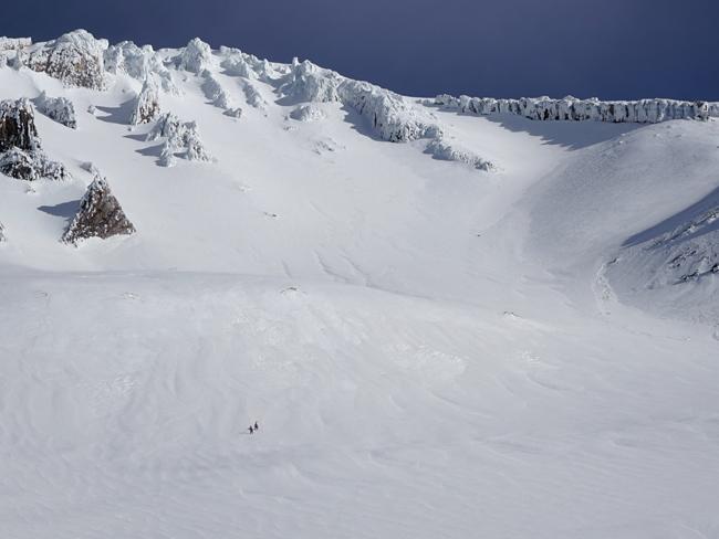 Climbing Avalanche Gulch Mt. Shasta, CA