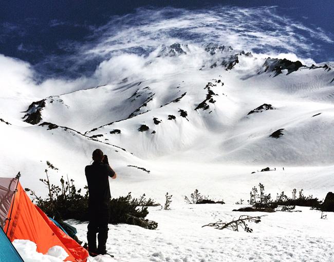 Mt. Shasta Hidden Valley basecamp