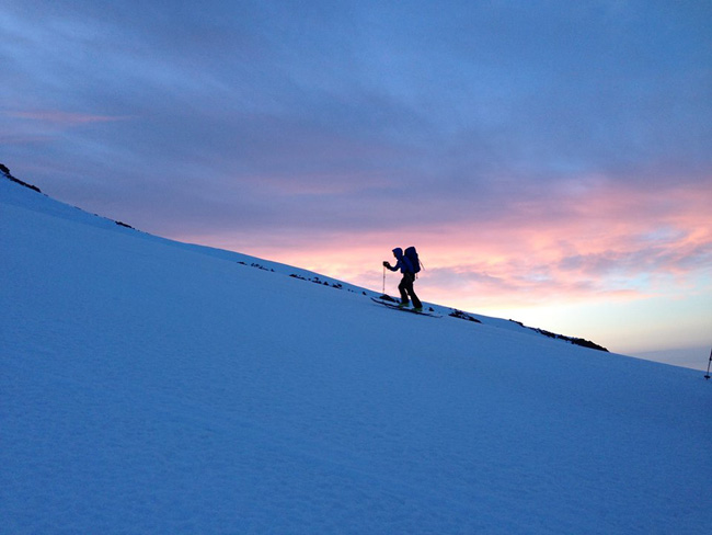 Alpine start Mt. Shasta, CA