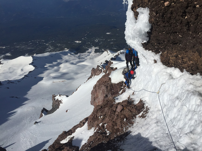 mt shasta climbing weather