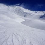 How much snow did Mt. Shasta receive?