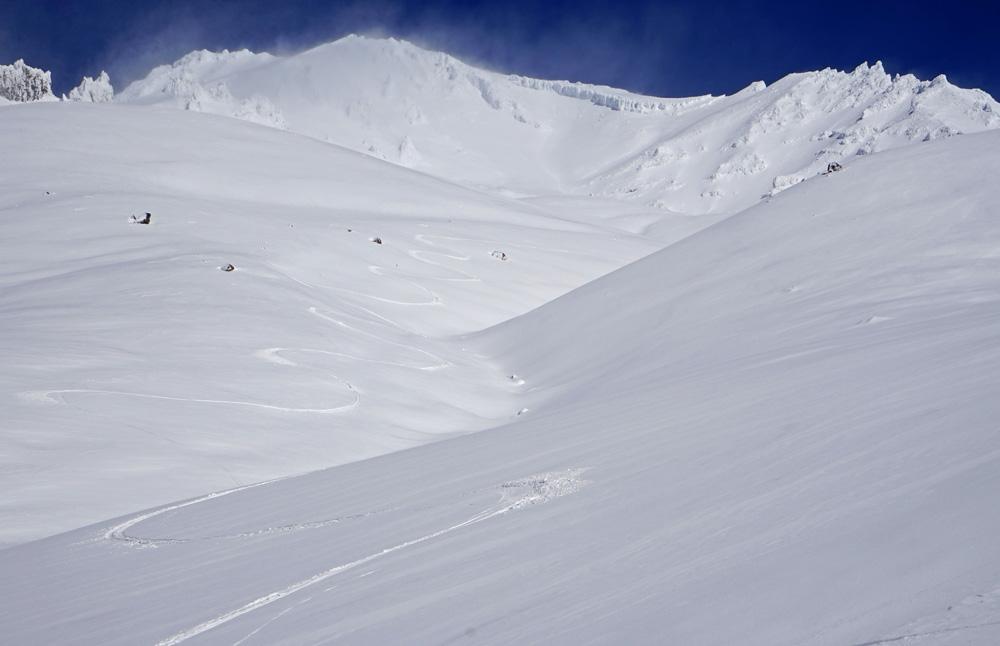 Ski Avalanche Gulch Mt. Shasta 10.18.16