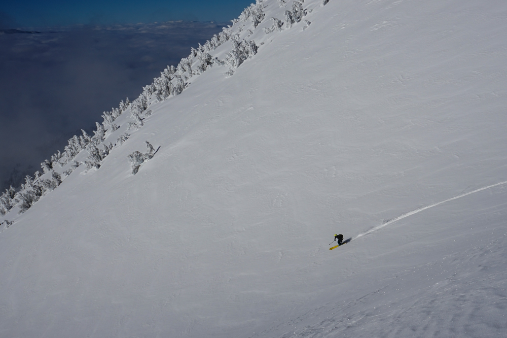 Backcountry Skiing Mt. Shasta, CA