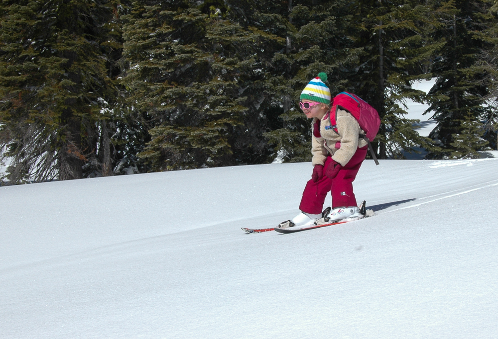 Bunny Flat Backcountry Skiing