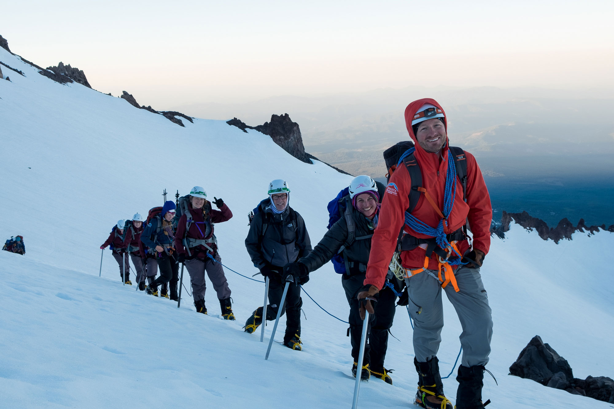 """Shasta Mountain Guides helped me realize my dream of summiting Mt. Shasta,"