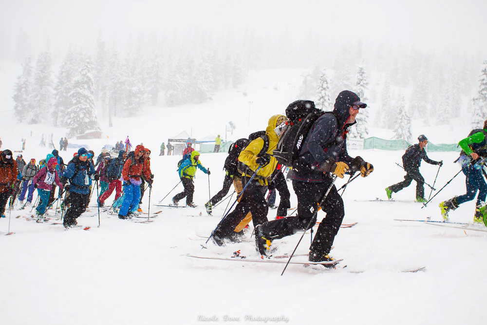 Mt. Shasta Ascension Ski Race